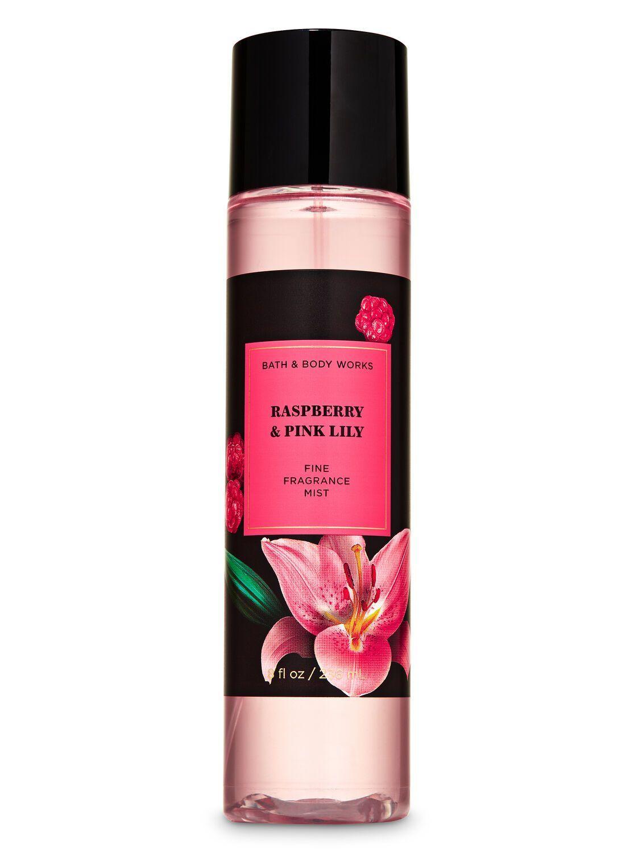 Мист для тела Bath&bodyWorks Raspberry & Pink Lily 236 мл