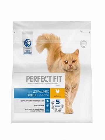 Perfect Fit сухой корм для кошек (с курицей) 650 г