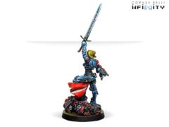 Jeanne d´Arc (вооружена MULTI Rifle) (back)