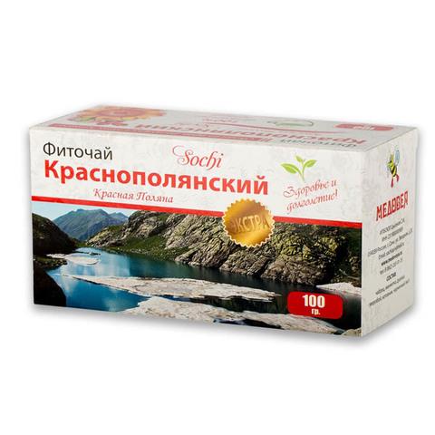 Чай травяной Краснополянский 100гр.