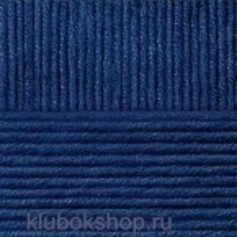 Пряжа Молодежная (Пехорка) 04 Темно-синий