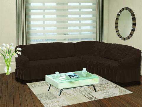 Чехол на диван угловой правосторонний GRACE 2+3 посадочных мест