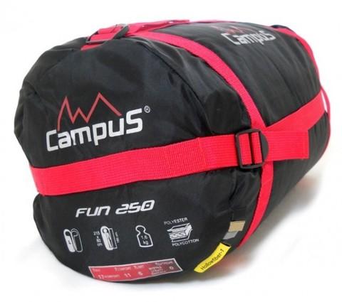 Спальный мешок Campus FUN 250 R-zip (кокон, +3°С, 215x80x55 см)