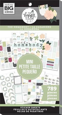 Блокнот со стикерами для ежедневника -Value Pack Stickers - HomeBody - Mini, 789 шт