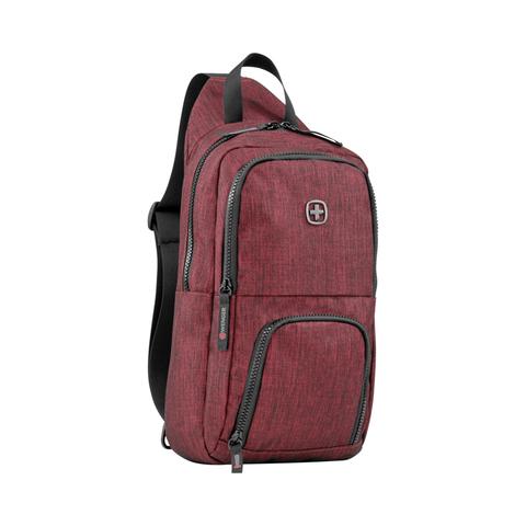 Рюкзак на одно плечо бордовый 8 л WENGER Console 605030