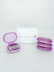 Shave Lab P.L.6+ FOR WOMEN 6 лезвий+подушечки, для женщин. Набор сменных кассет- 4 шт