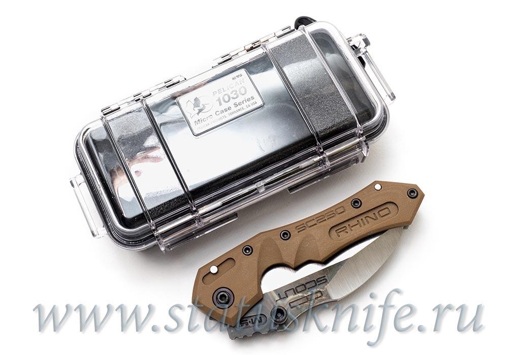 Нож Dwaine Carrillo M250 Scout M5 Кастом - фотография