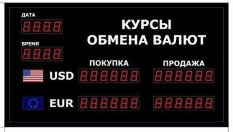 Табло курсов валют DoCash R1 602-05 DT-CR