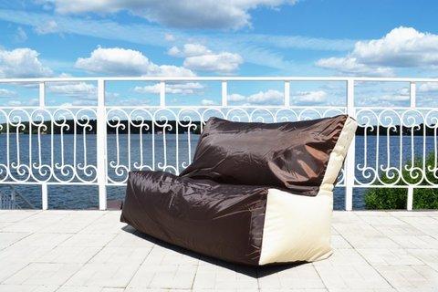Кресло-мешок «Диван» Коричнево-бежевый