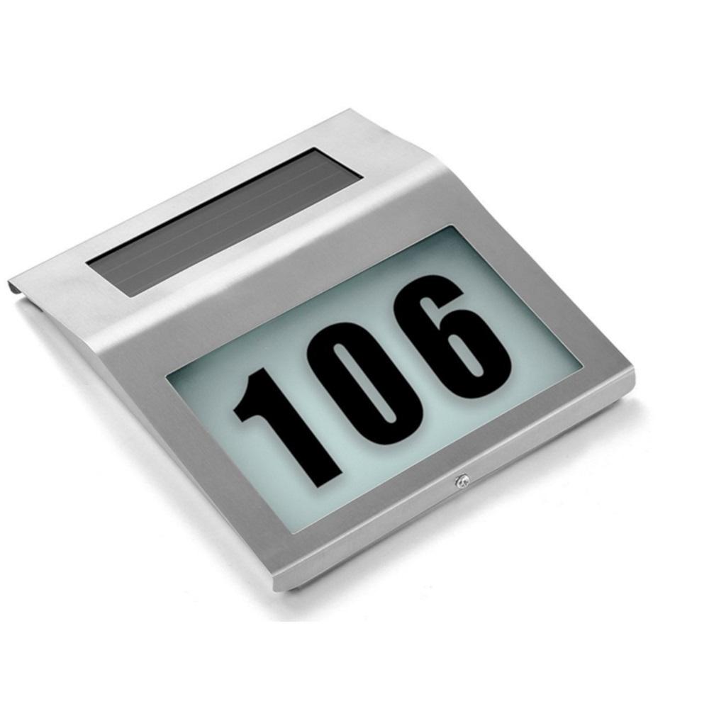 Товары для дома Световой указатель номера дома на солнечной батареи «Мой дом» TD_0474-7.jpg