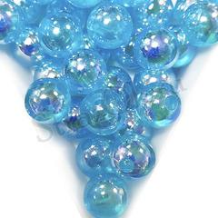 Купить оптом бусины Capri Blue AB синие в Краснодаре