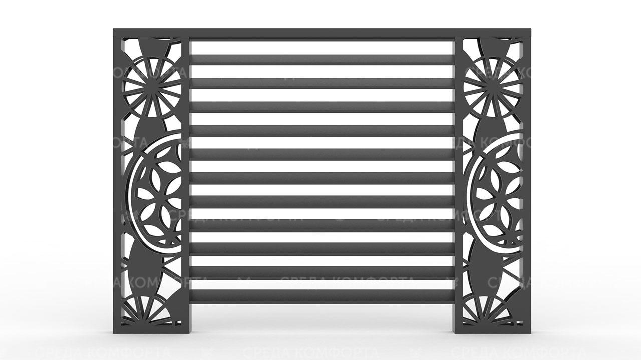 Забор жалюзи ZBR0128