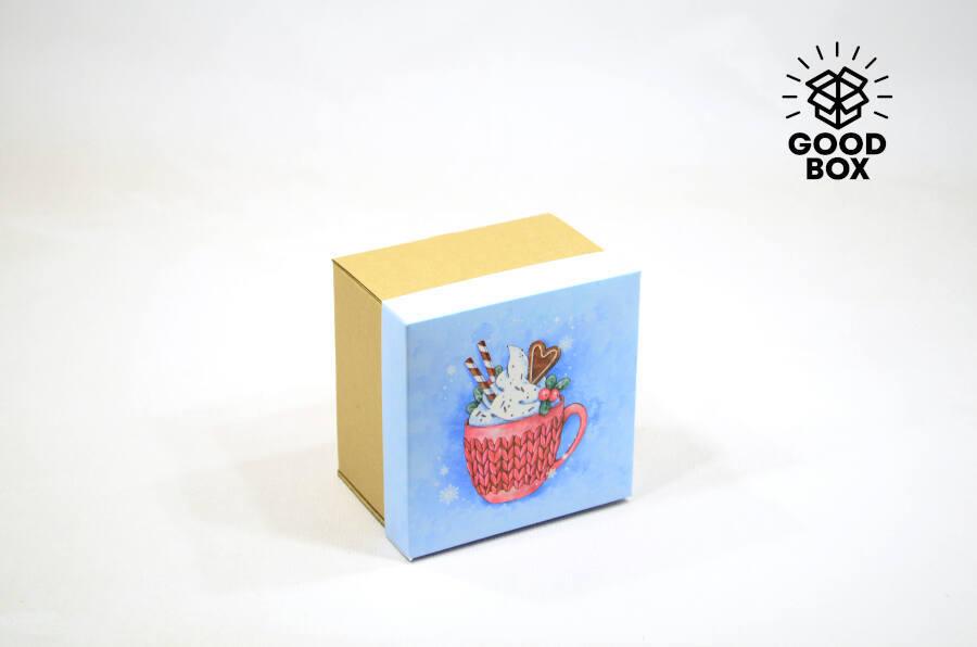 Новогодние коробки оптом купить в Алматы