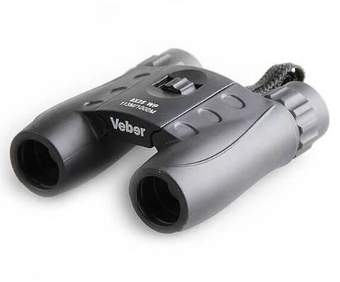 Бинокль Veber 8x25 WP, черный