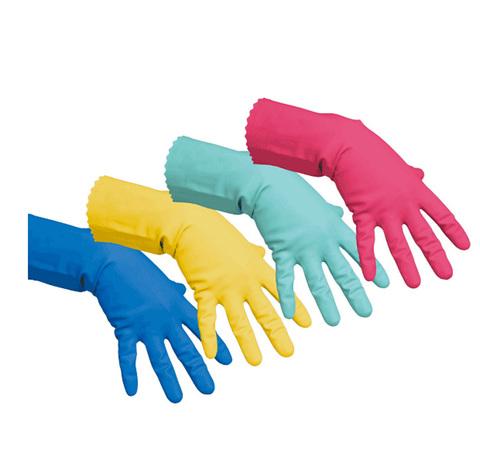 Латексные перчатки хозяйственные ЭКОНОМ