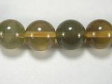 Бусина из флюорита желтого, шар гладкий 12мм