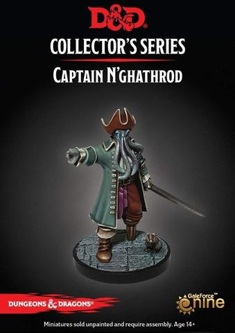 D&D Dungeon of the Mad Mage - Captain N'ghathrod