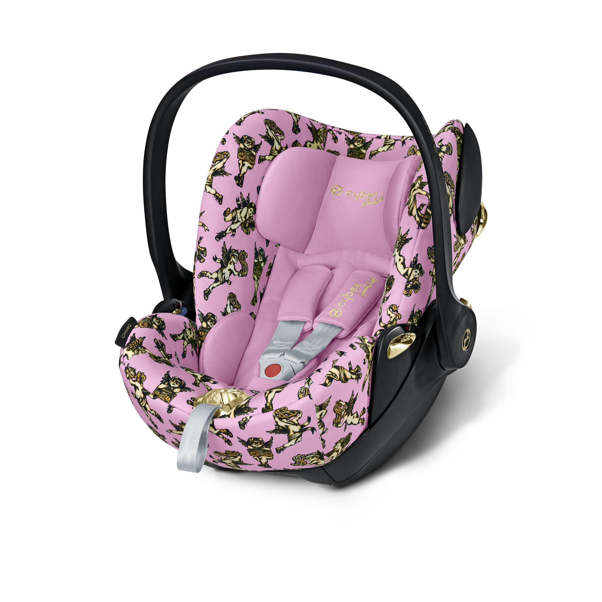 Автокресло 0+ Cybex Cloud Q JS Cherubs Pink