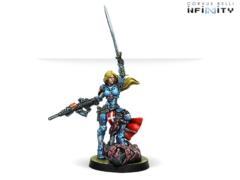 Jeanne d´Arc (вооружена MULTI Rifle) (alter head)