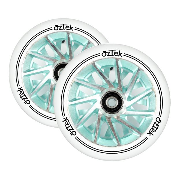 Пара колёс для самоката AZTEK Ermine (Aqua)