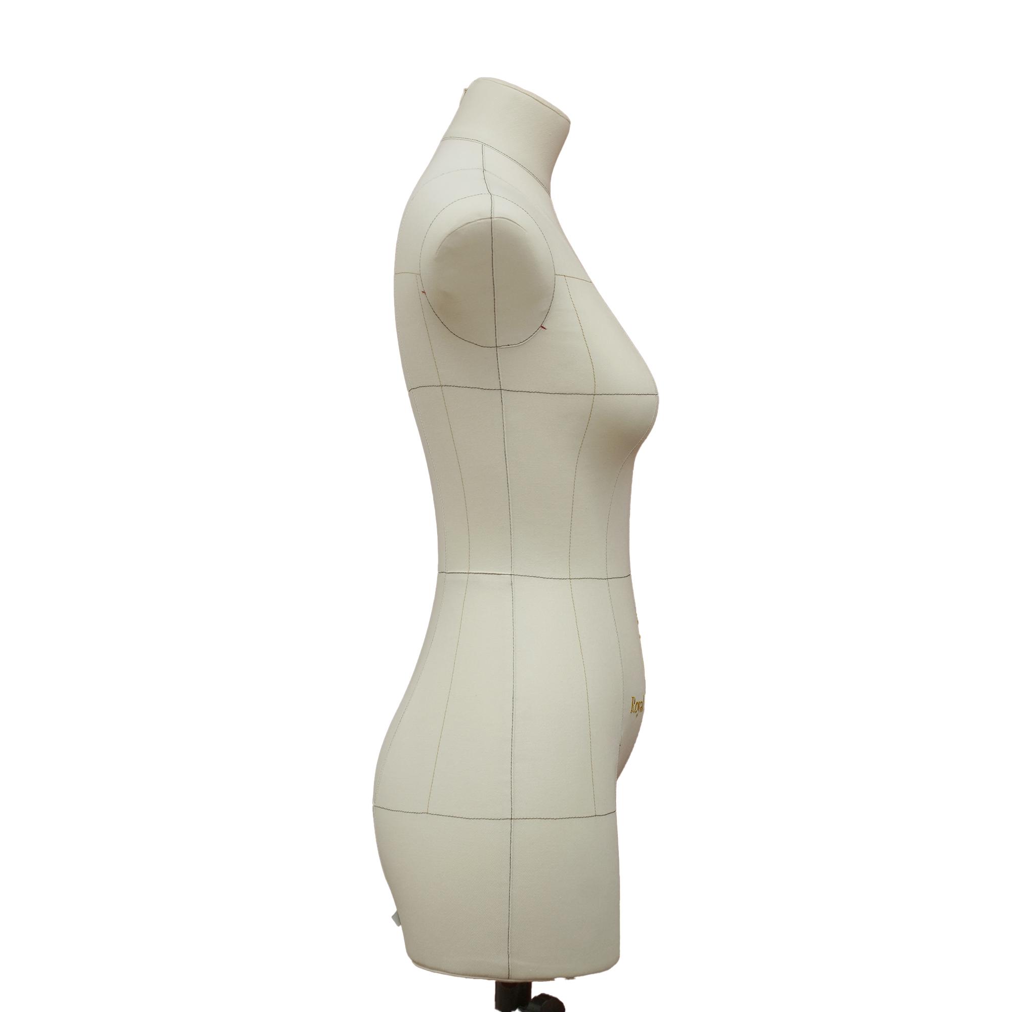 Манекен портновский Моника, комплект Про, размер 44, тип фигуры Песочные часы, бежевыйФото 2