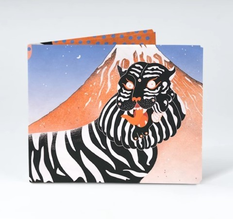 Экологичный бумажник New Fujitiger