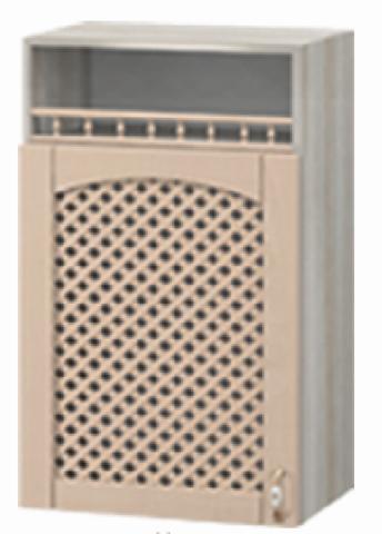 шкаф с нишей и решеткой МВ-2