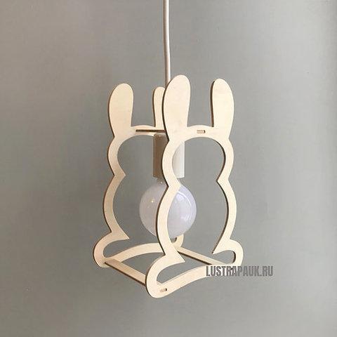 Подвесной светильник Wooden Zoo Rabbit (Заяц)