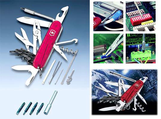 Складной нож Victorinox CyberTool M 34 (1.7725.T) 91 мм., 34 функции - Wenger-Victorinox.Ru