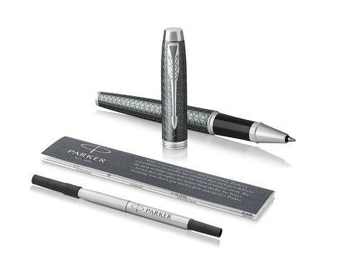 Ручка роллер Parker IM Premium Dark Green CT123