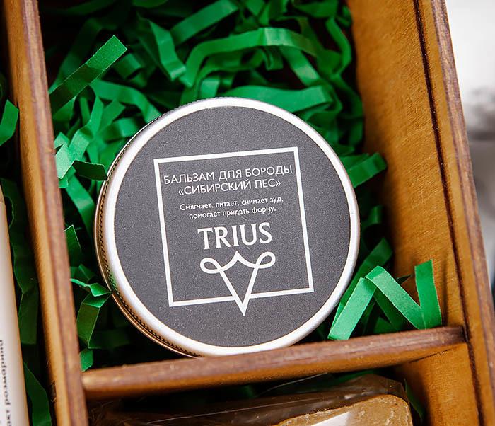 Мужской набор из натурального шампуня, бальзама и мыла «HENNESSY» фото 02
