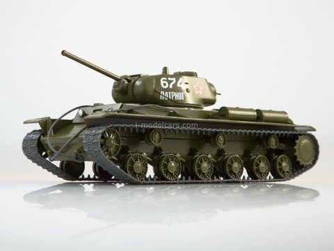 Tank KV-1C Our Tanks #22 MODIMIO Collections
