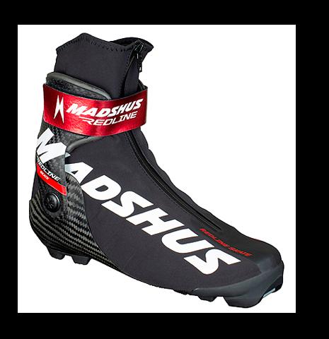 Профессиональные лыжные ботинки Madshus Redline Skate (2020/2021) для конькового хода