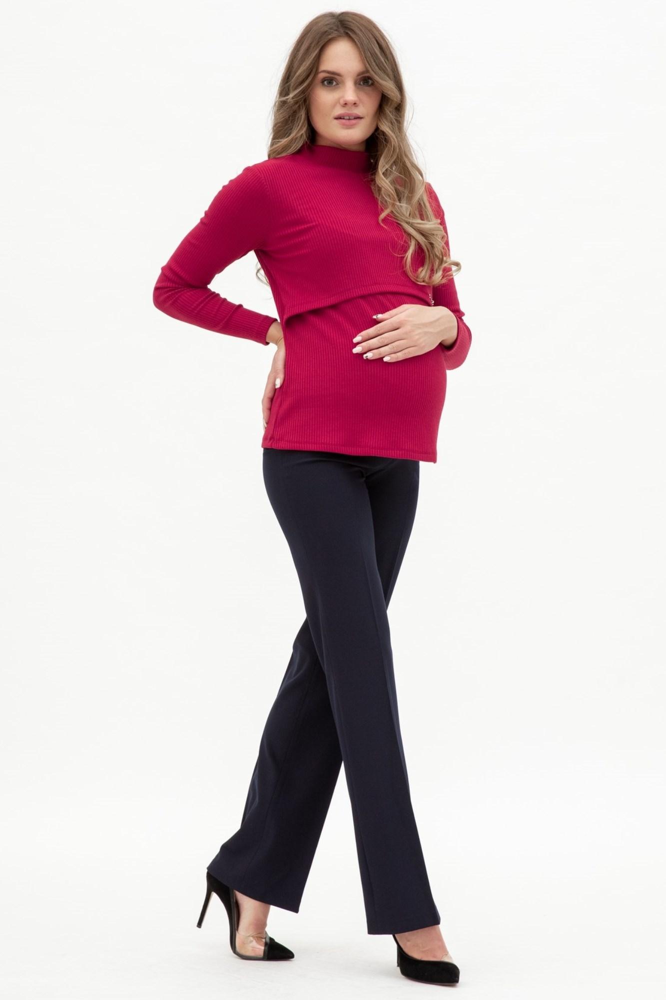 Брюки для беременных 02673 синий