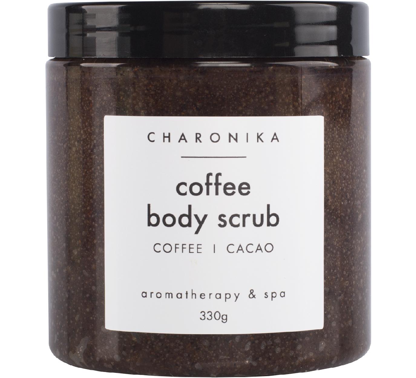 Скраб кремовый CHARONIKA Coffee Body Scrub 330 гр (кофе, какао)