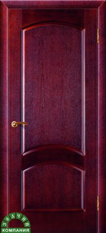 Дверь Классика (ясень красный, глухая шпонированная), фабрика Зодчий