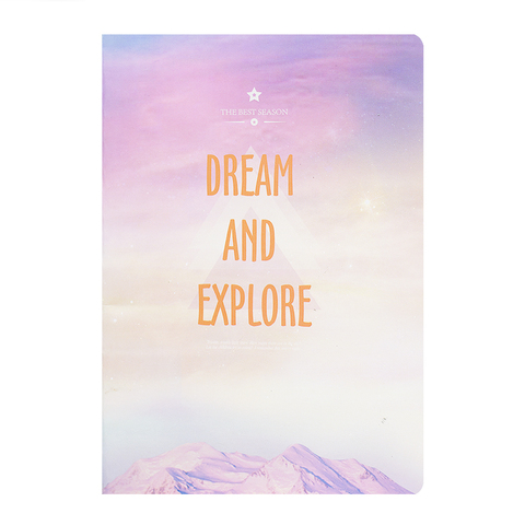 Тетрадь Dream and Explore 48 листов Горы