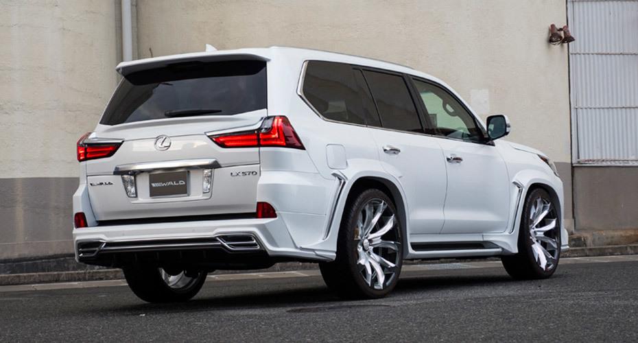 Обвес Wald для Lexus LX450d/LX570 2016+ Копия