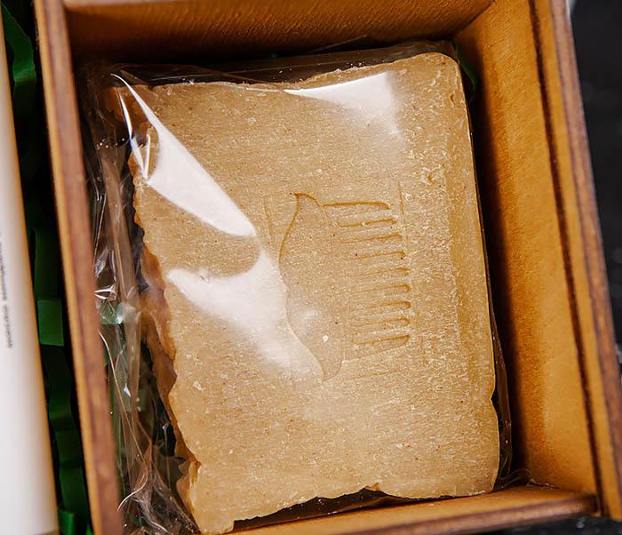 Мужской набор из натурального шампуня, бальзама и мыла «HENNESSY» фото 03