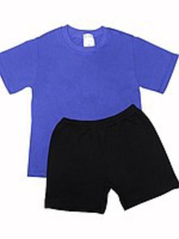 Футболка для занятий физкультурой (фиолетовая)