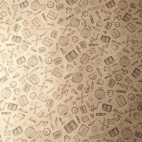 Крафт-бумага ШКОЛЬНАЯ (600*405мм)