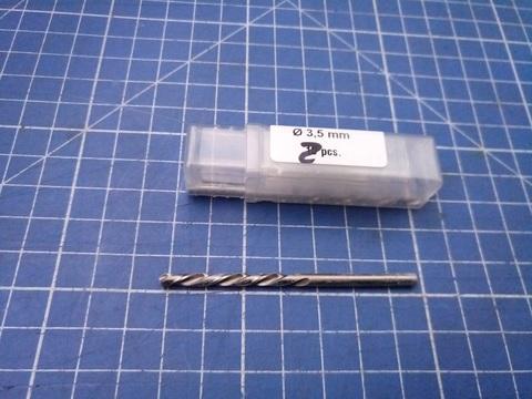 Сверло по металлу ц/x 3,5x70/39мм (LH-Левостороннее) DIN338 h8 5xD HSS-G 135° HSS-Tools 1720-1035