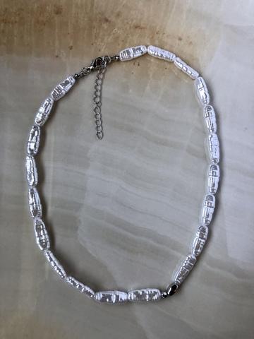 Колье Лафиона, серебряный цвет