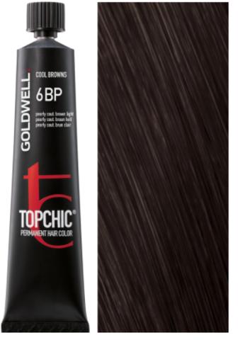 Goldwell Topchic 6BP жемчужный светлый шоколад TC 60ml