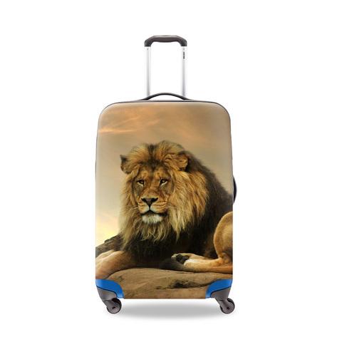 Чехол для чемодана - Лев