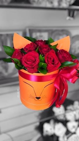 Цветы в шляпной коробке #11933