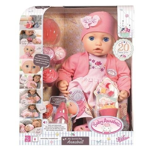 Беби Анабель Праздничная кукла 43 см