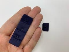 Застежка с крючками темно-синяя 1 ряд (цв. 061)