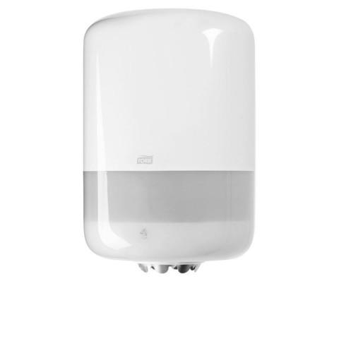 Диспенсер для рулонных полотенец с центральной вытяжкой Tork Elevation М2 пластиковый белый (код производителя 559000)