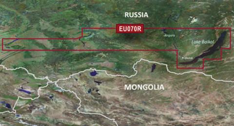 Карта GARMIN  БАЙКАЛ, НОВОСИБИРСКОЕ ВОДОХРАНИЛИЩЕ g3 HXEU070R